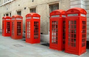 """Le """"classiche"""" cabine telefoniche inglesi sono ormai in via di estinzione"""