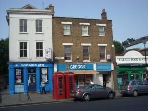 Il caratteristico quartiere di Greenwich, Londra